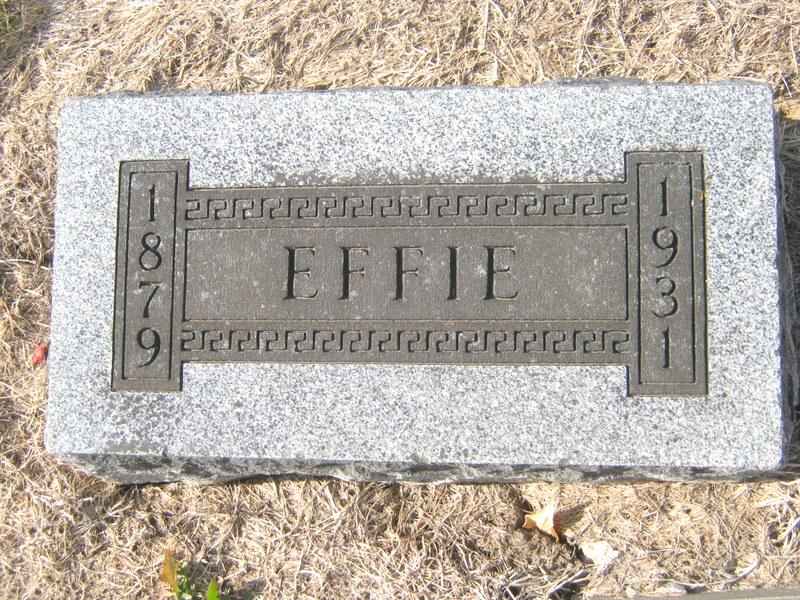Effie <i>Vestal</i> Barkley