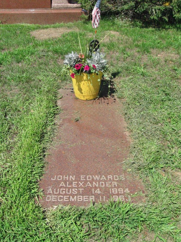 John Edwards Alexander