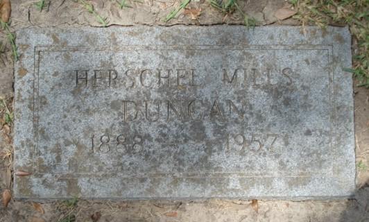 Herschel Mills Duncan, Sr