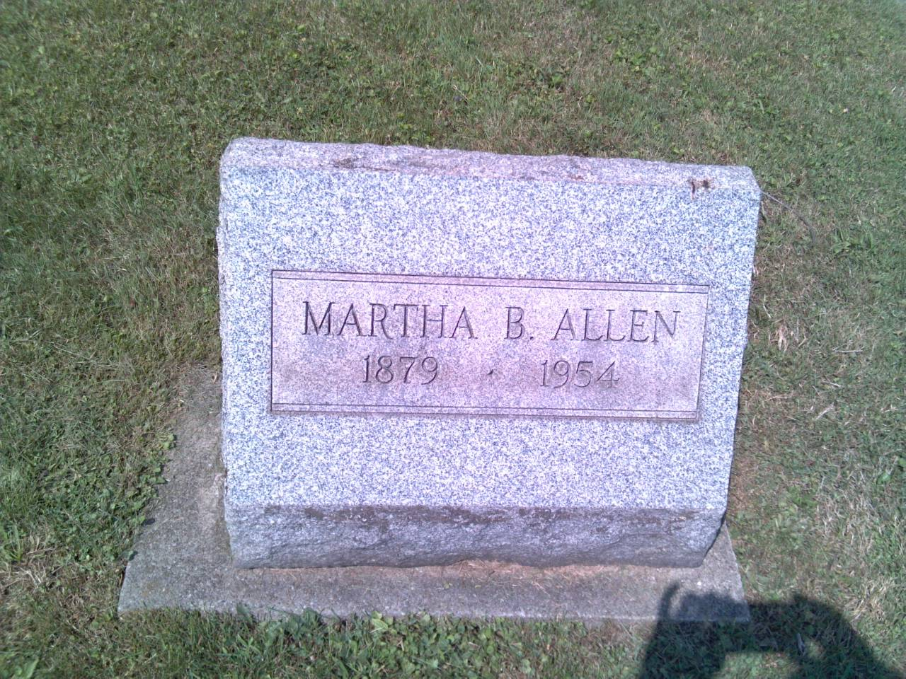 Martha B <i>Book</i> Allen