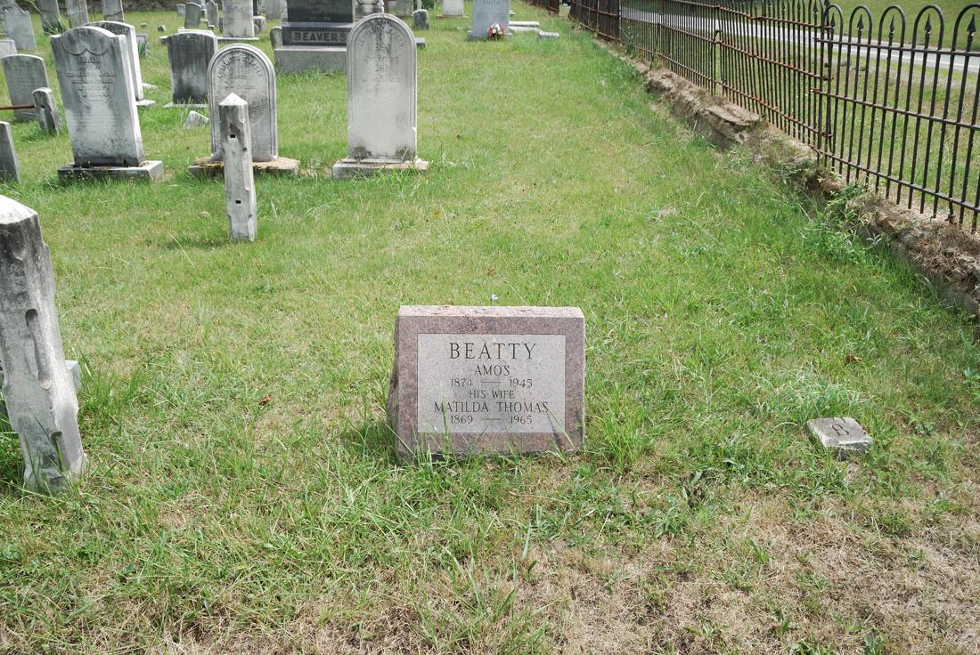 Matilda <i>Thomas</i> Beatty