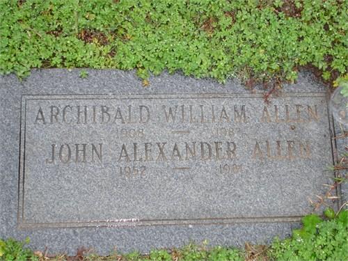 Archibald William Allen