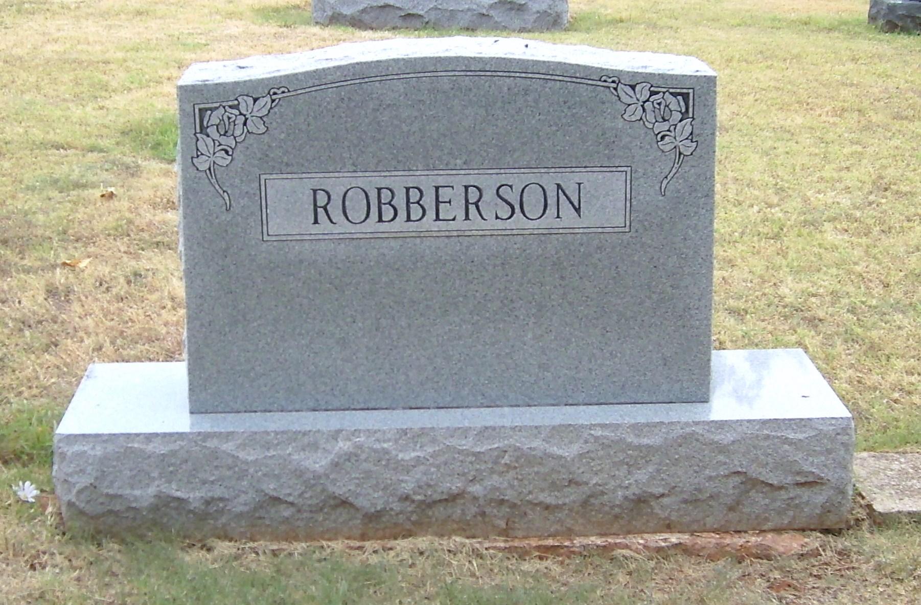 Margaret Melvina Vina <i>Stinebaugh</i> Robberson