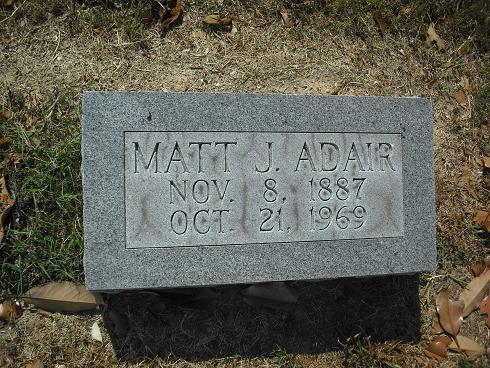 Matt J Adair