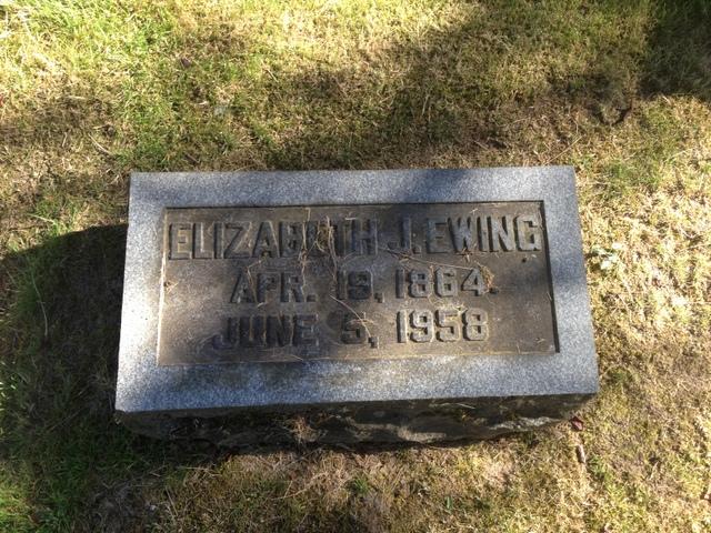 Elizabeth J <i>Robertson</i> Ewing