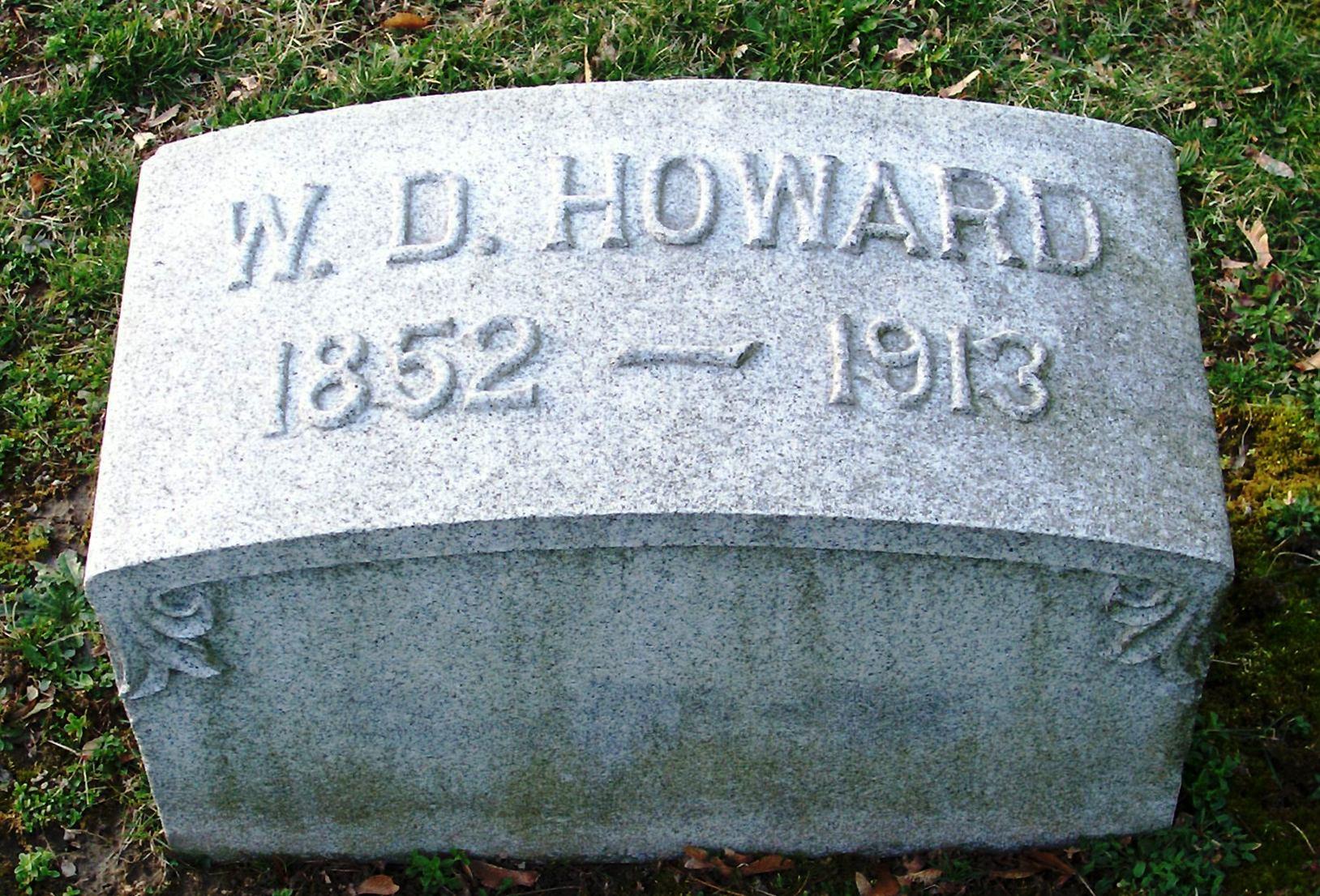 Willard D Howard