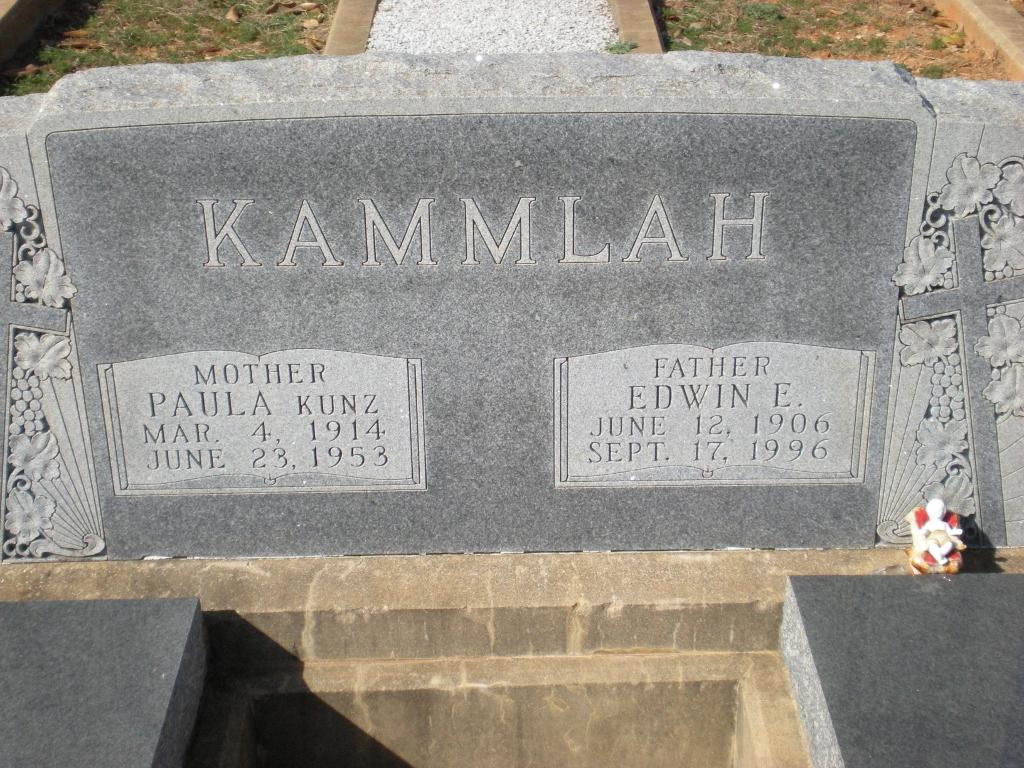 Paula Magdalena <i>Kunz</i> Kammlah
