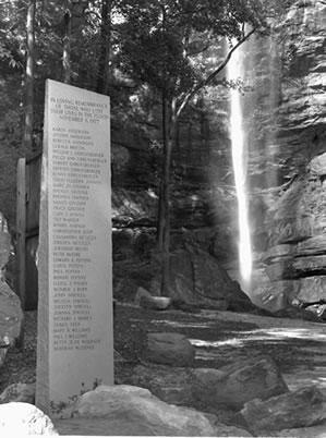 1977 Toccoa Georgia Flood Memorial