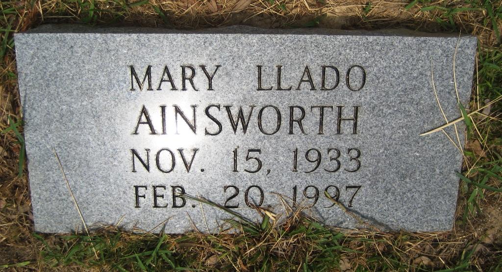 Mary <i>Llado</i> Ainsworth