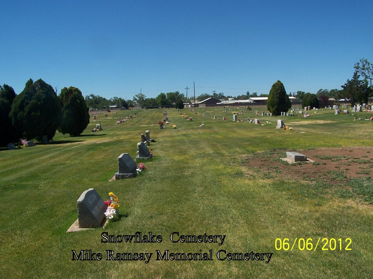 R V Mike Ramsay Memorial Cemetery