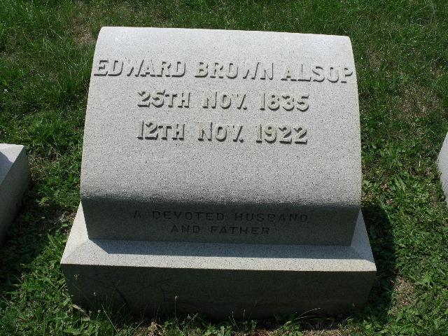 Edward Brown Alsop