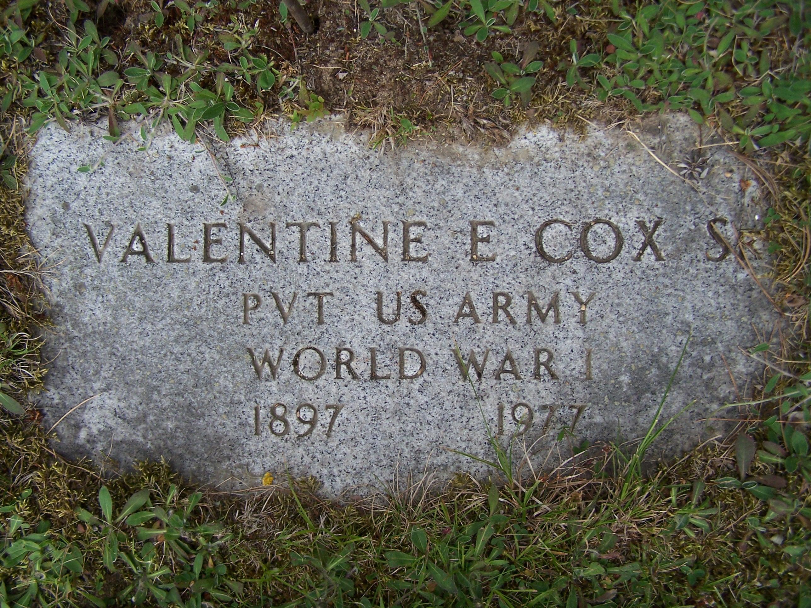 Valentine Emerson Cox, Sr