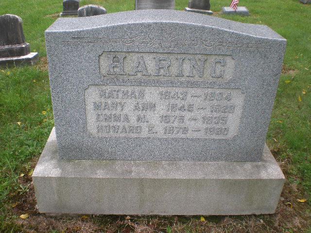 Mary Ann <i>Christman</i> Haring