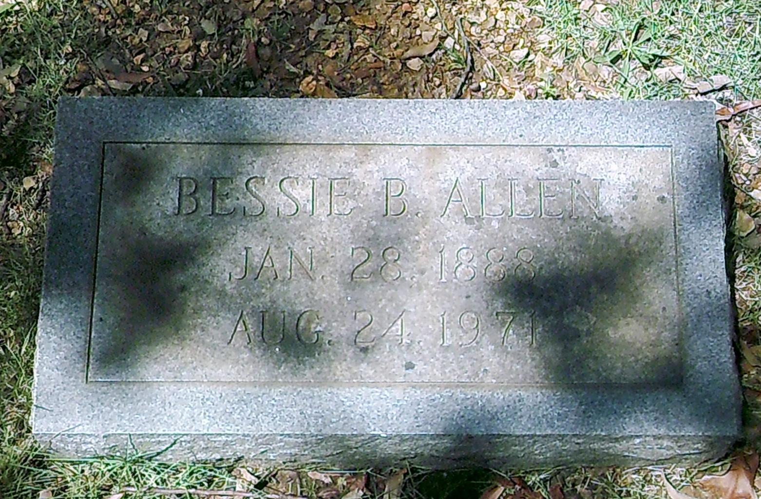 Bessie <i>Bearden</i> Allen