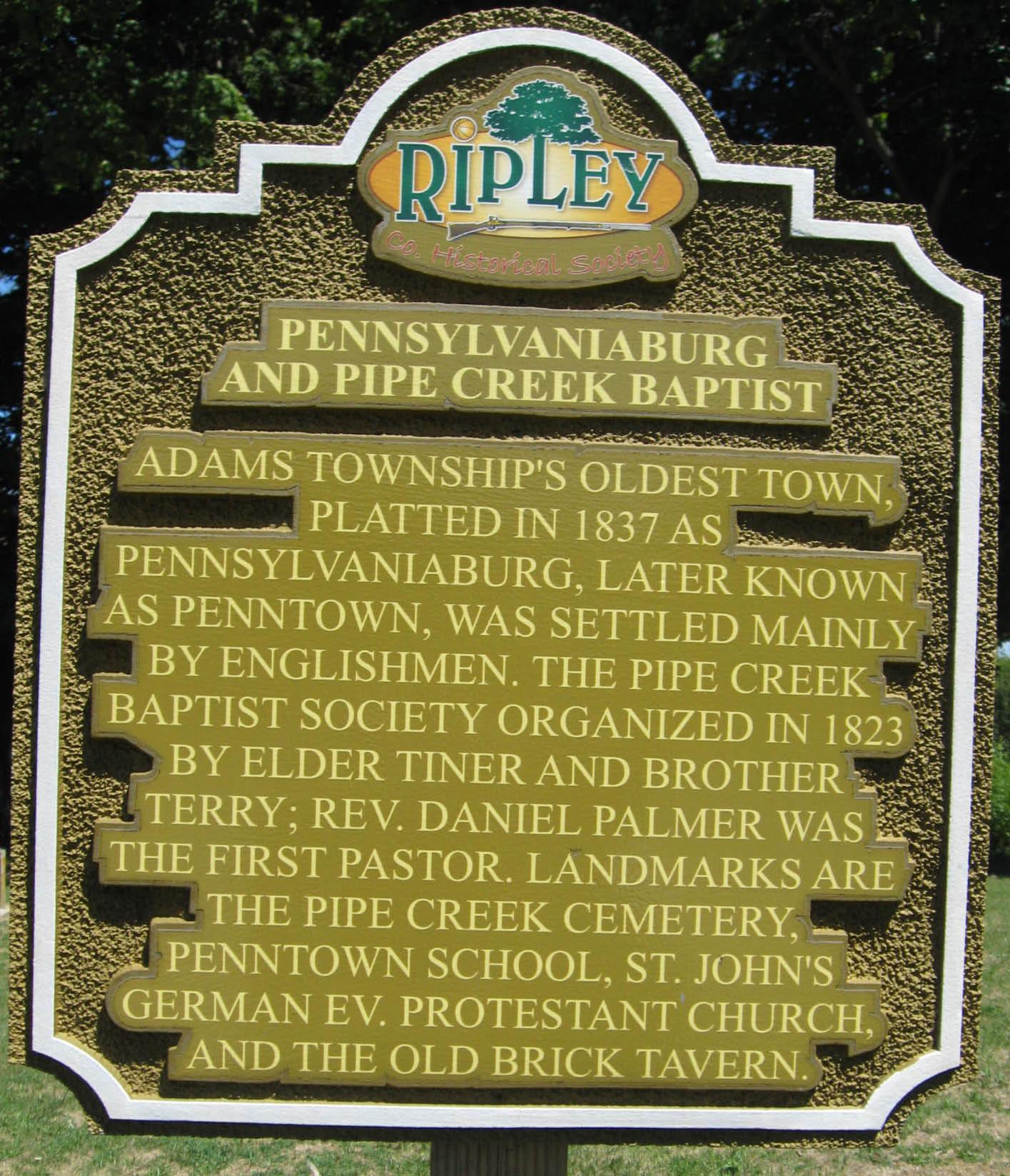 Pipe Creek Baptist Cemetery