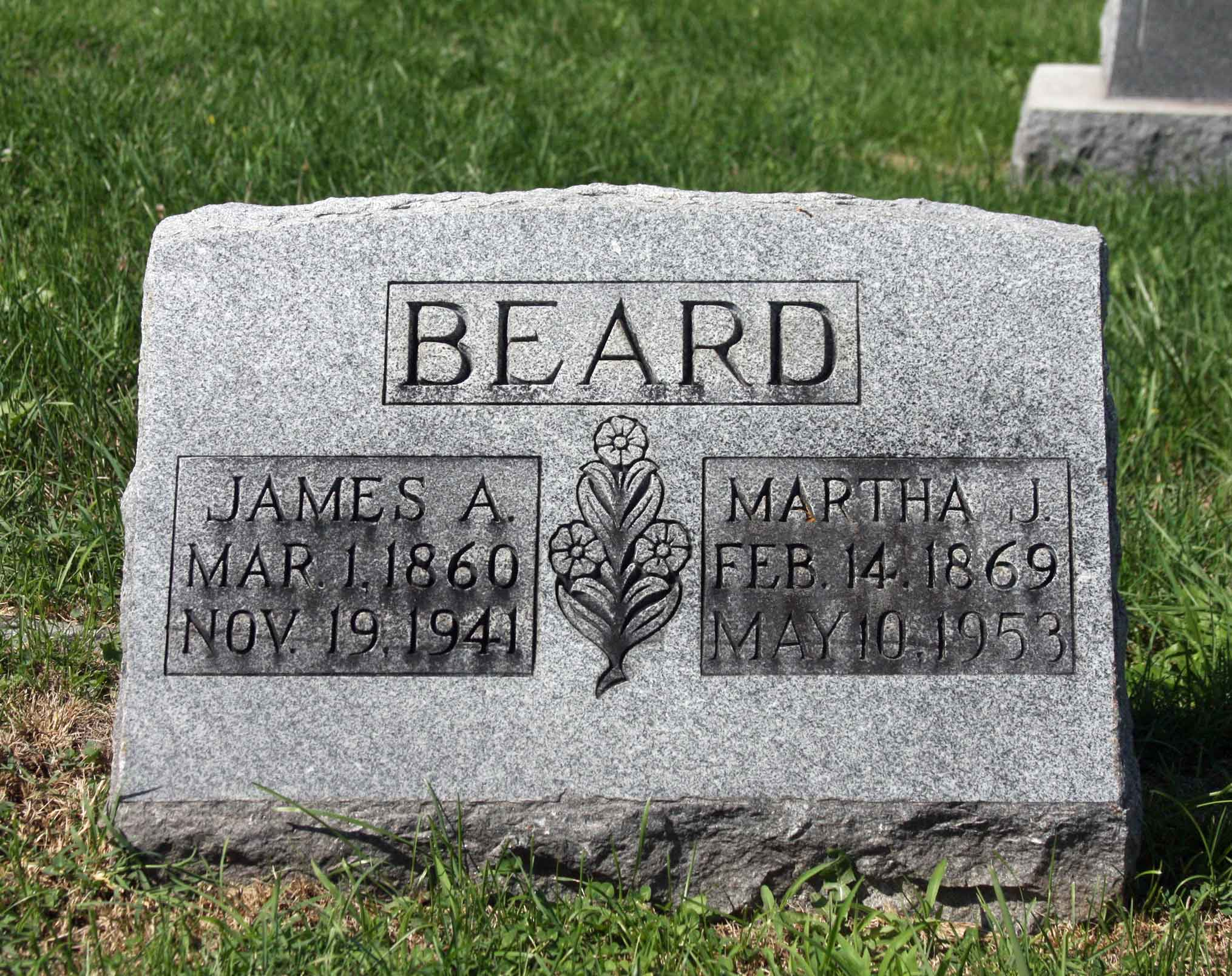 Martha Jane <i>Anglin</i> Beard