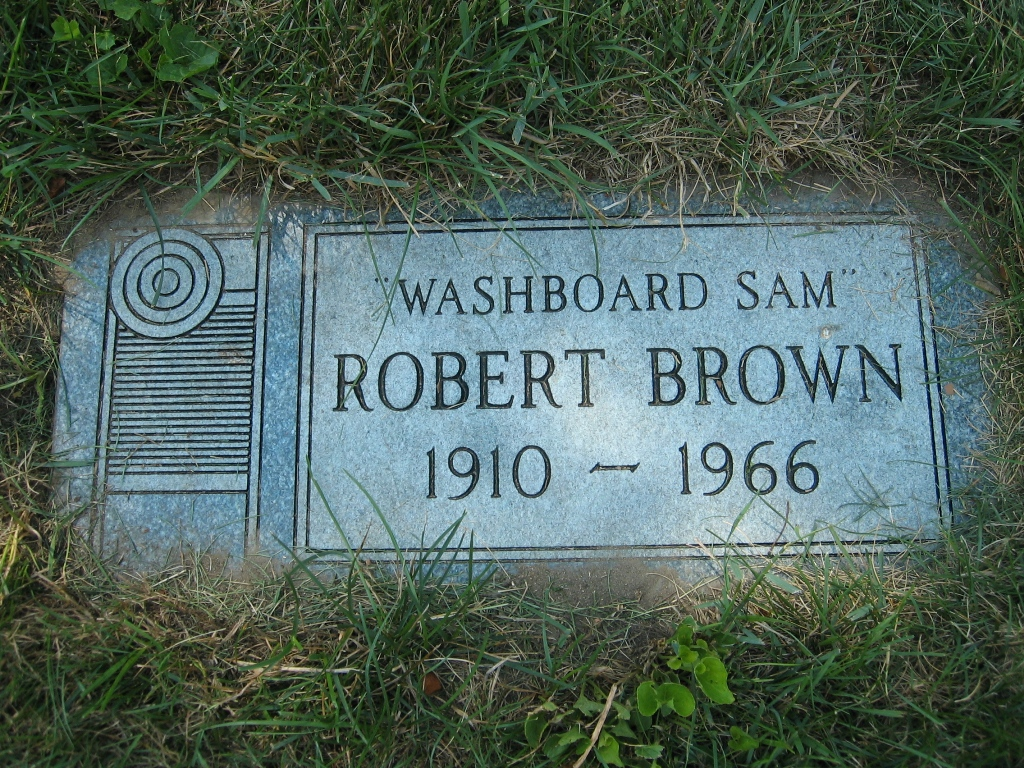 Robert Washboard Sam Brown