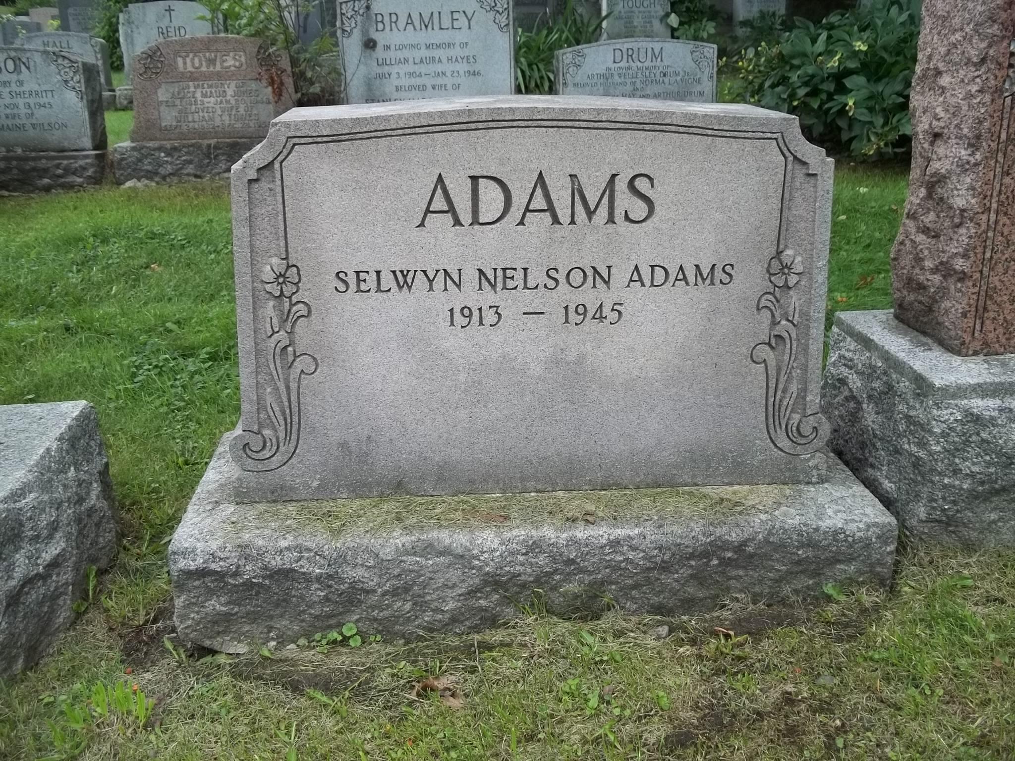 Selwyn Nelson Adams