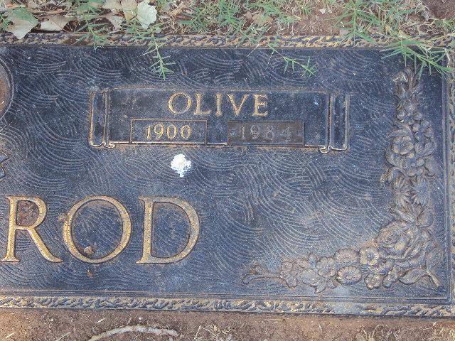 Olive Coonrod