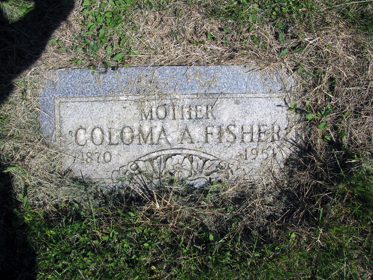 Coloma Alice <i>Elgin</i> Fisher