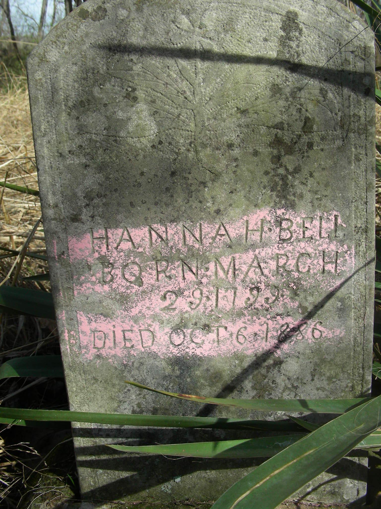 Hanna H. <i>Akeright</i> Bell