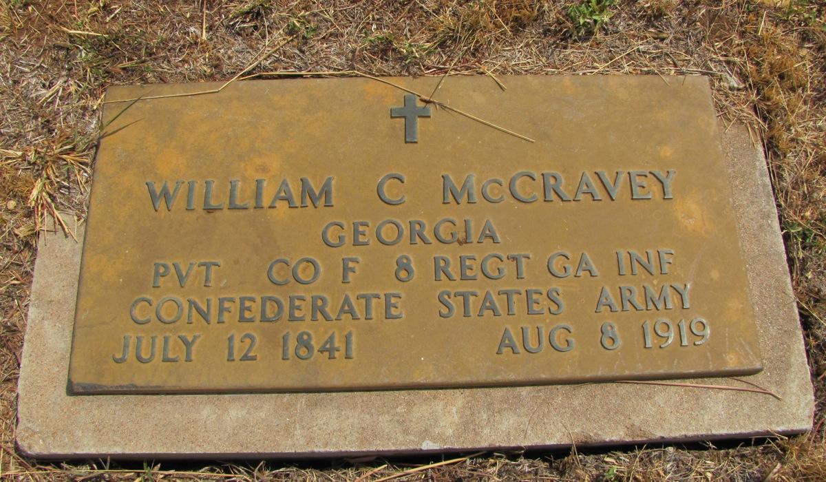 Pvt William Cicero McCravey