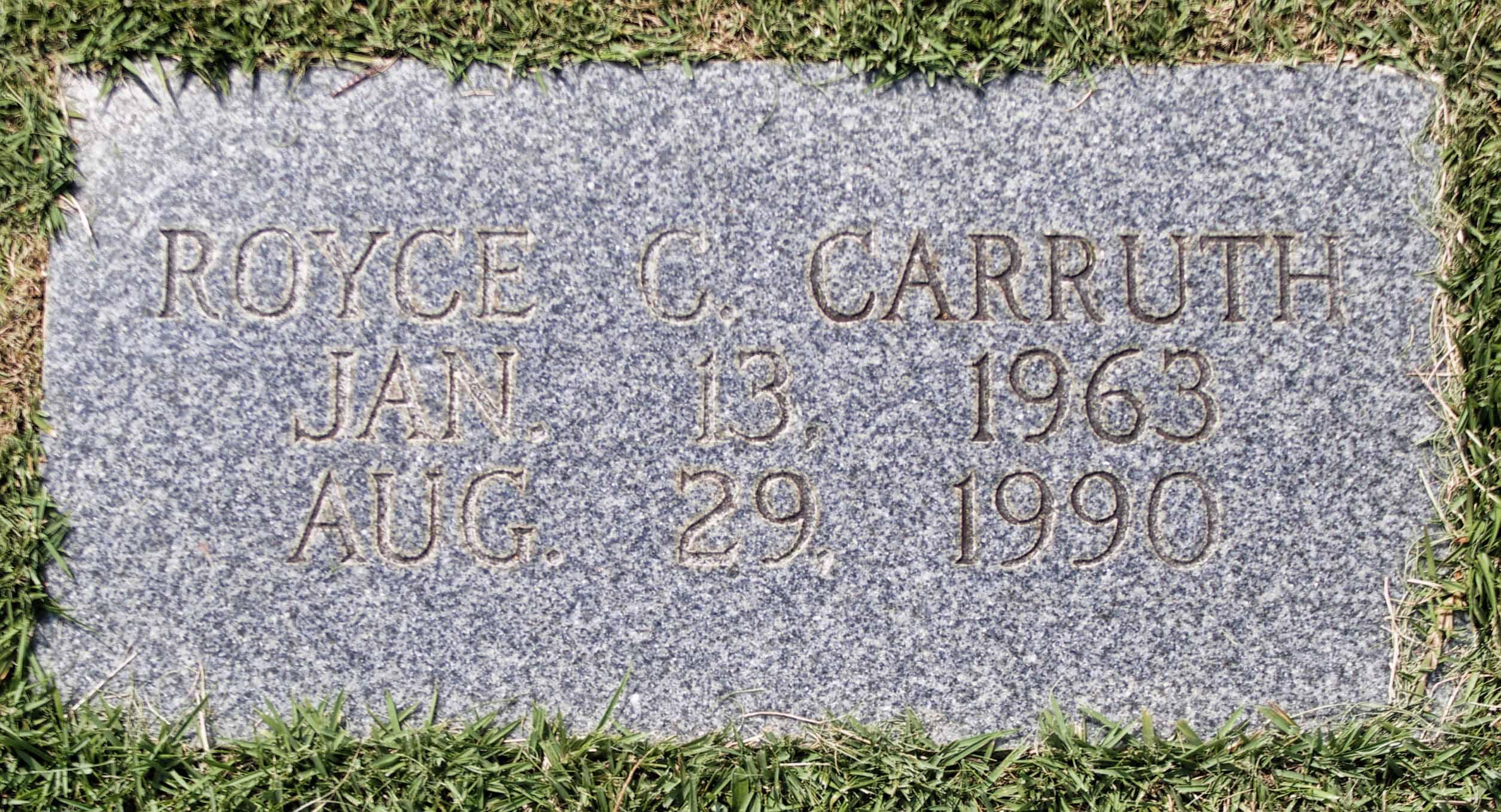 Royce Clifton Carruth
