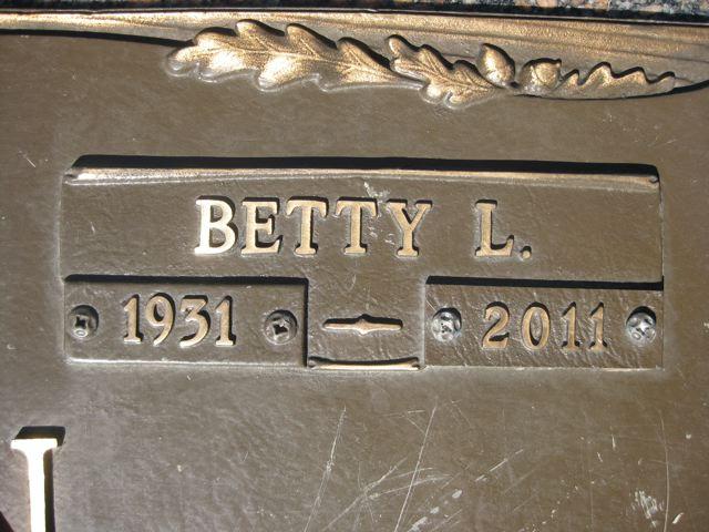 Betty Lou <i>Stone</i> Gann