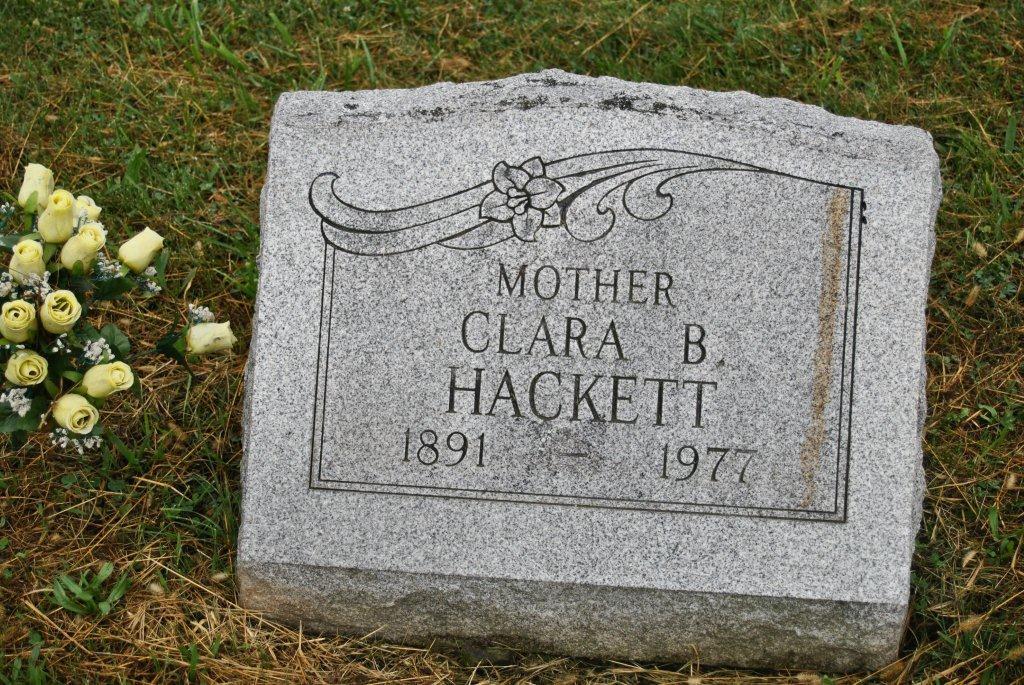Clara Belle <i>Wagner</i> Hackett