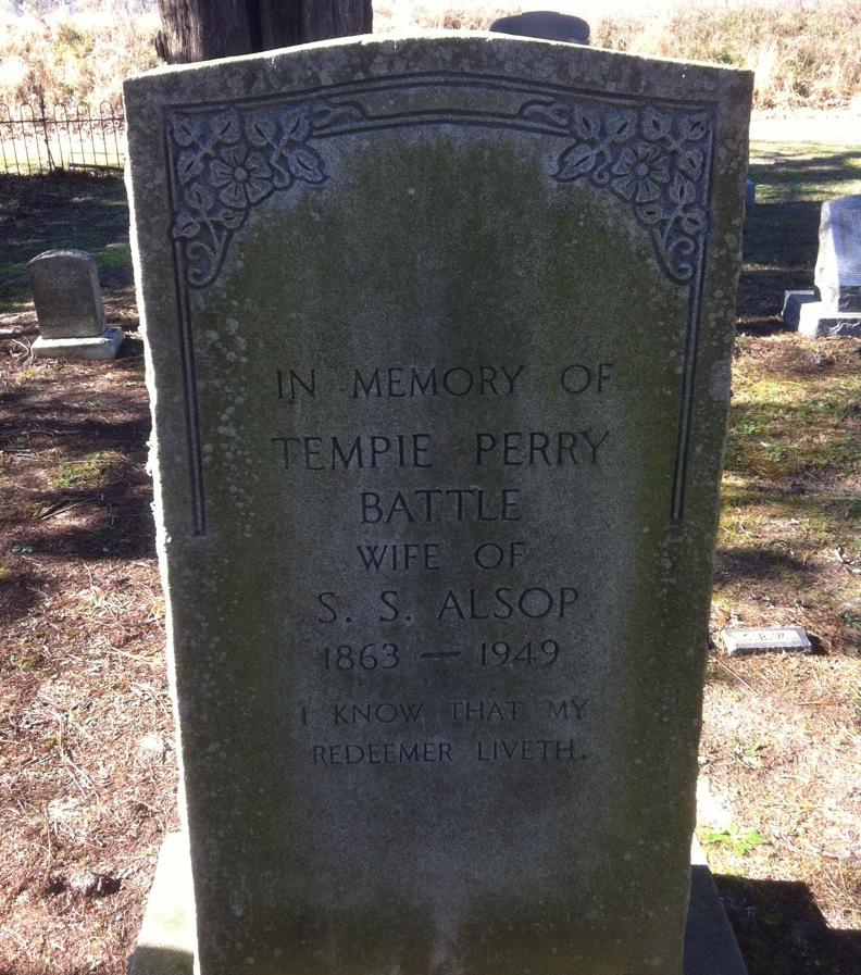 Tempie Perry <i>Battle</i> Alsop