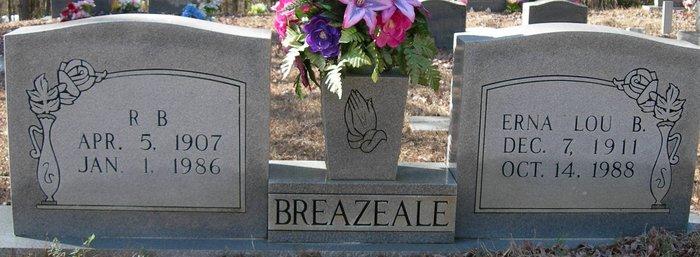 Erna Lou <i>Brewer</i> Breazeale