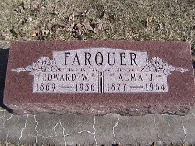 Alma Josephine <i>Sargeant</i> Farquer