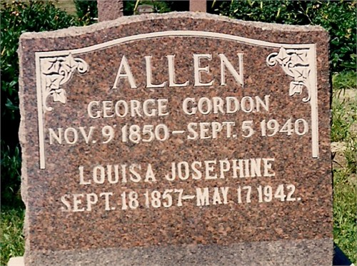 Louisa Josephine <i>Stewart</i> Allen