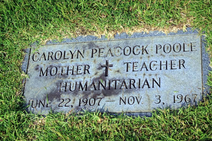 Carolyn <i>Peacock</i> Poole