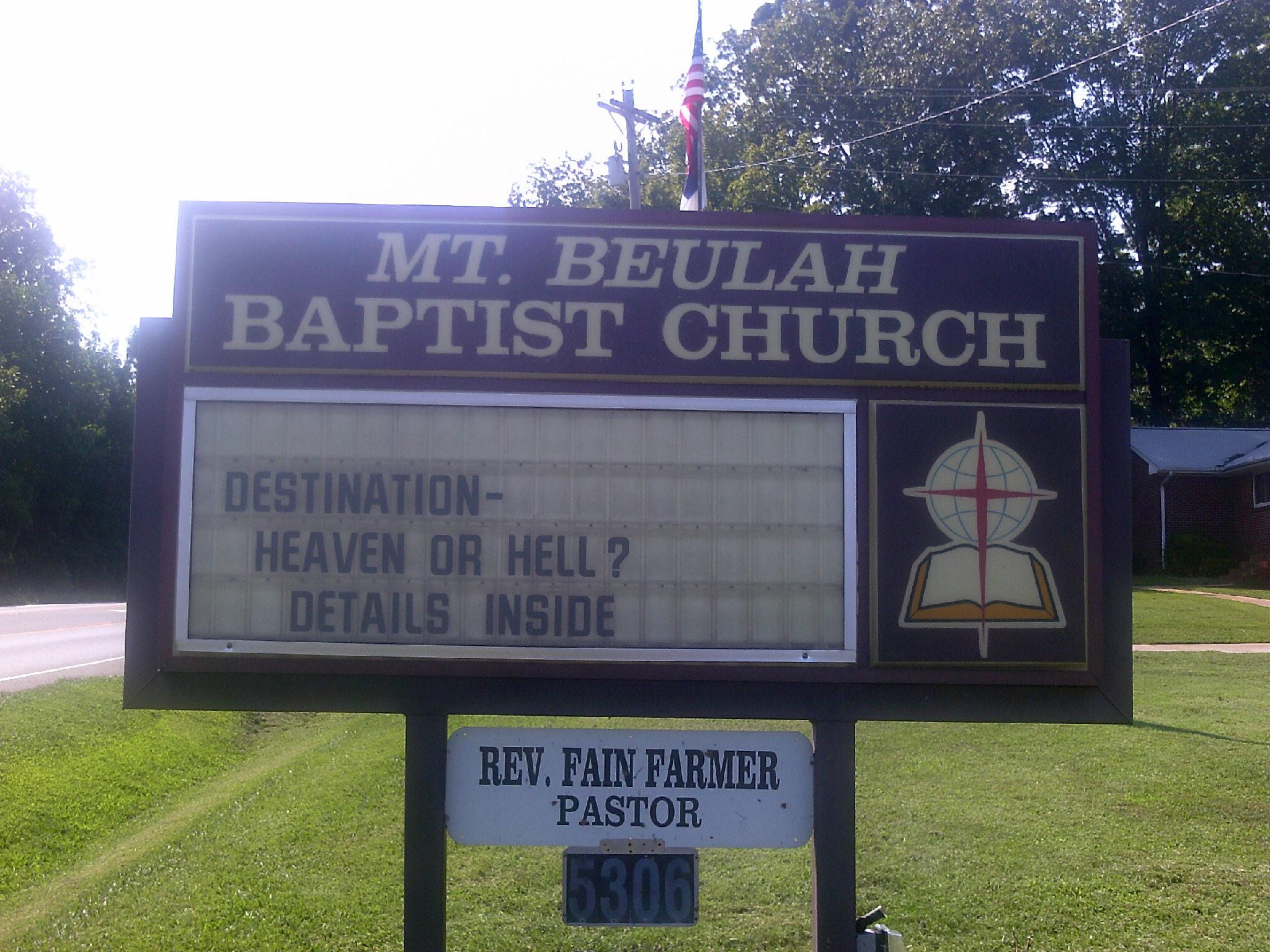Mount Beulah Baptist Church Cemetery