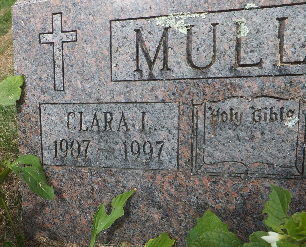 Clara Laverne <i>Fitzgerald</i> Mullin