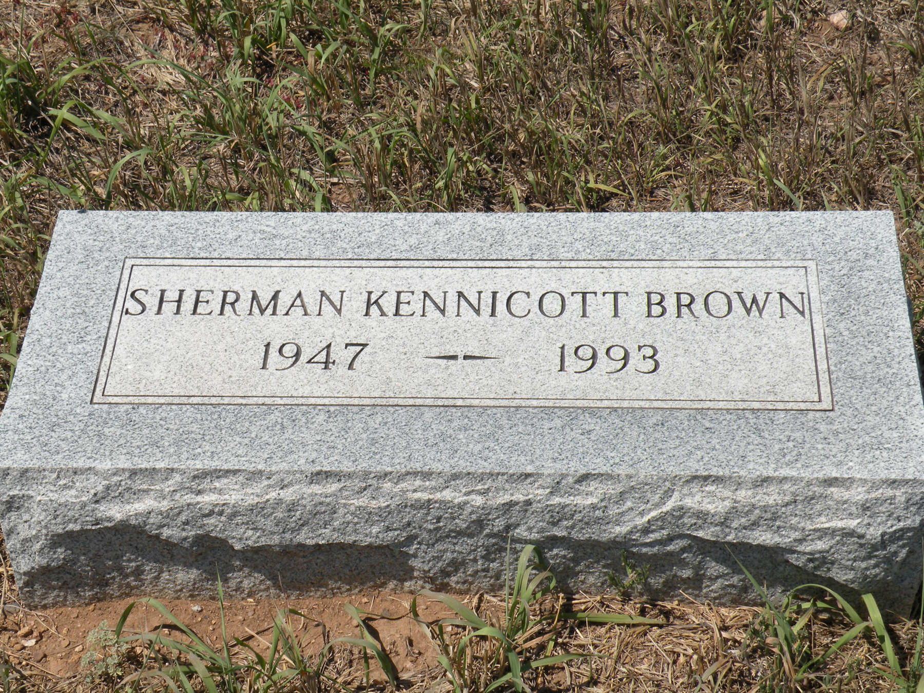 Sherman Kennicott Brown
