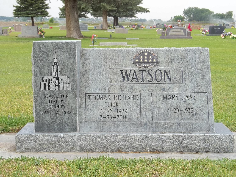 Thomas Richard Dick Watson
