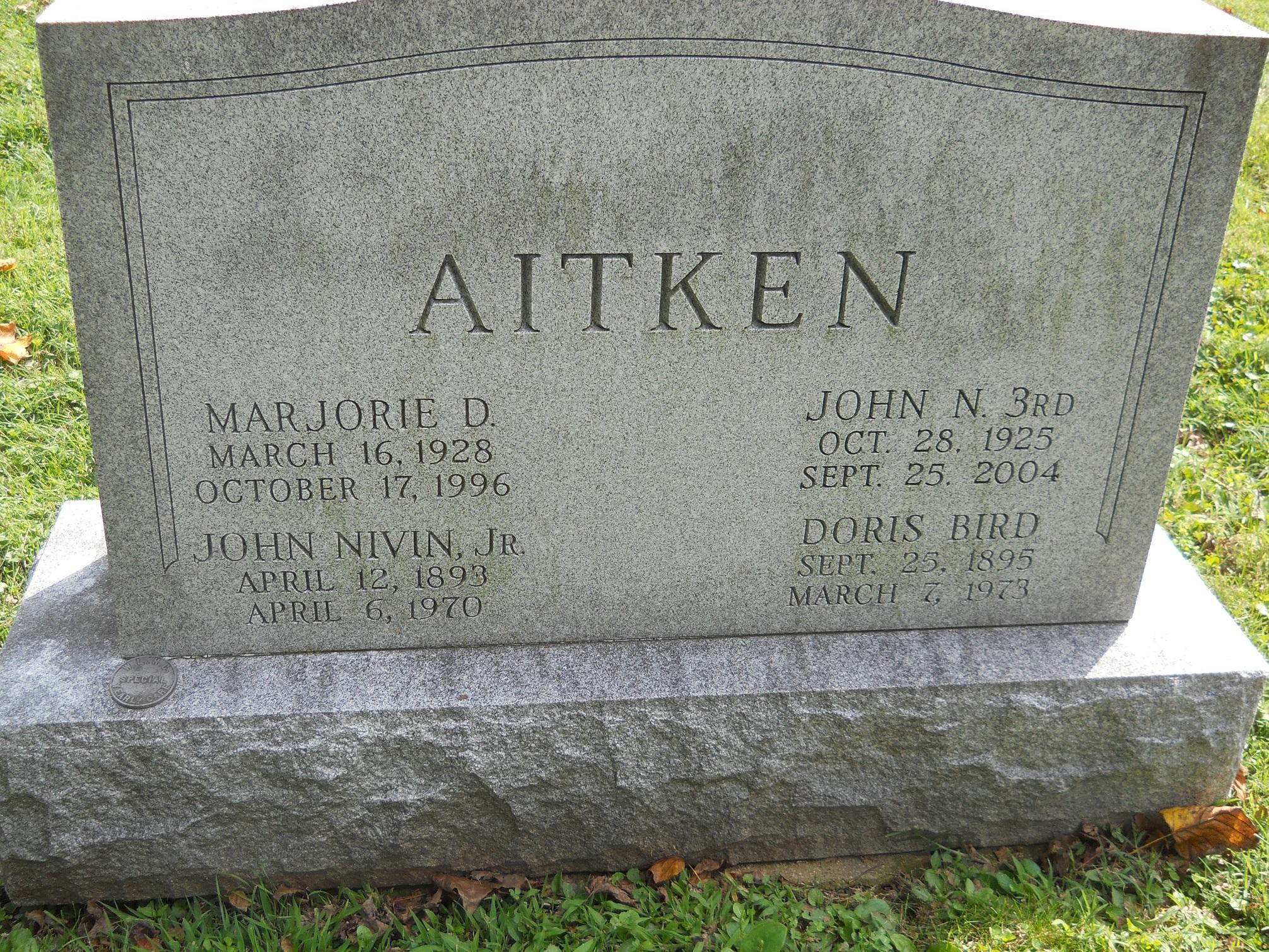 Marjorie <i>Doxrud</i> Aitken