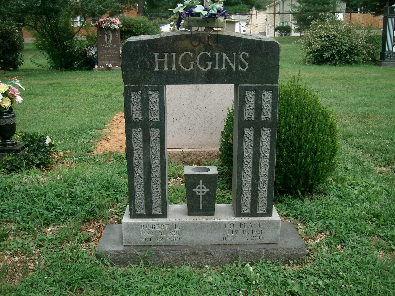 Lo <i>Platt</i> Higgins