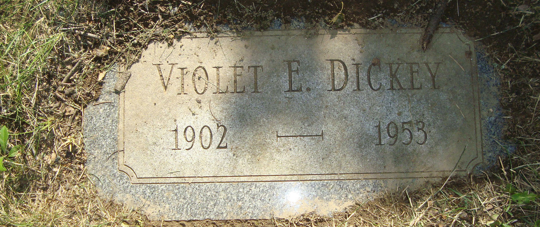 Violet Elizabeth <i>Titlow</i> Dickey