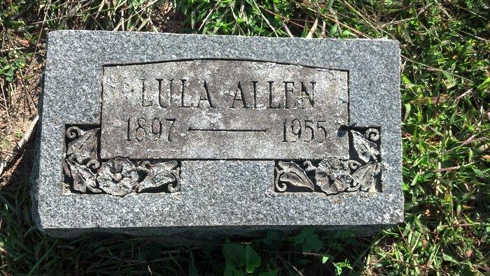 Lula Mae <i>Husted</i> Allen