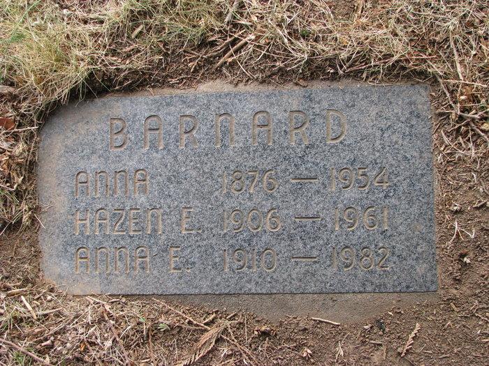 Hazen Edwin Barnard