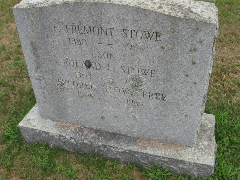 F. Fremont Stowe