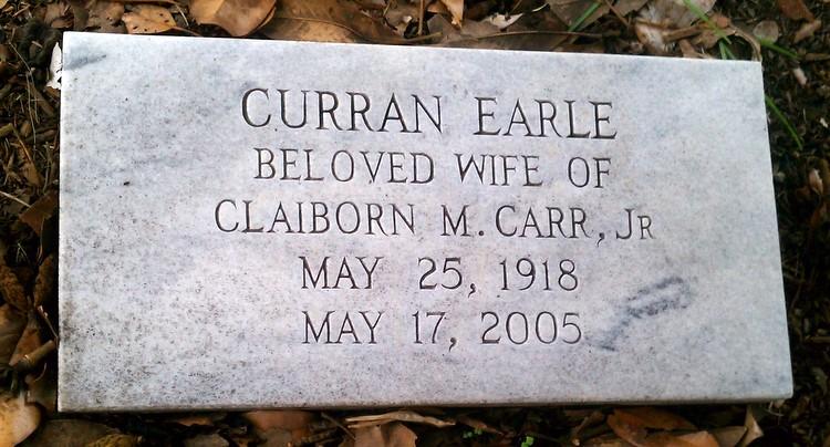 Curran <i>Earle</i> Carr