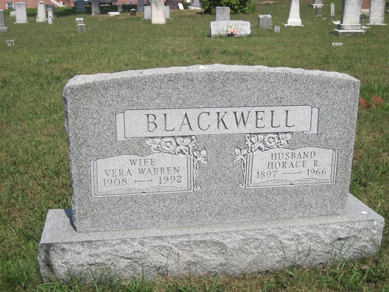 Vera <i>Warren</i> Blackwell