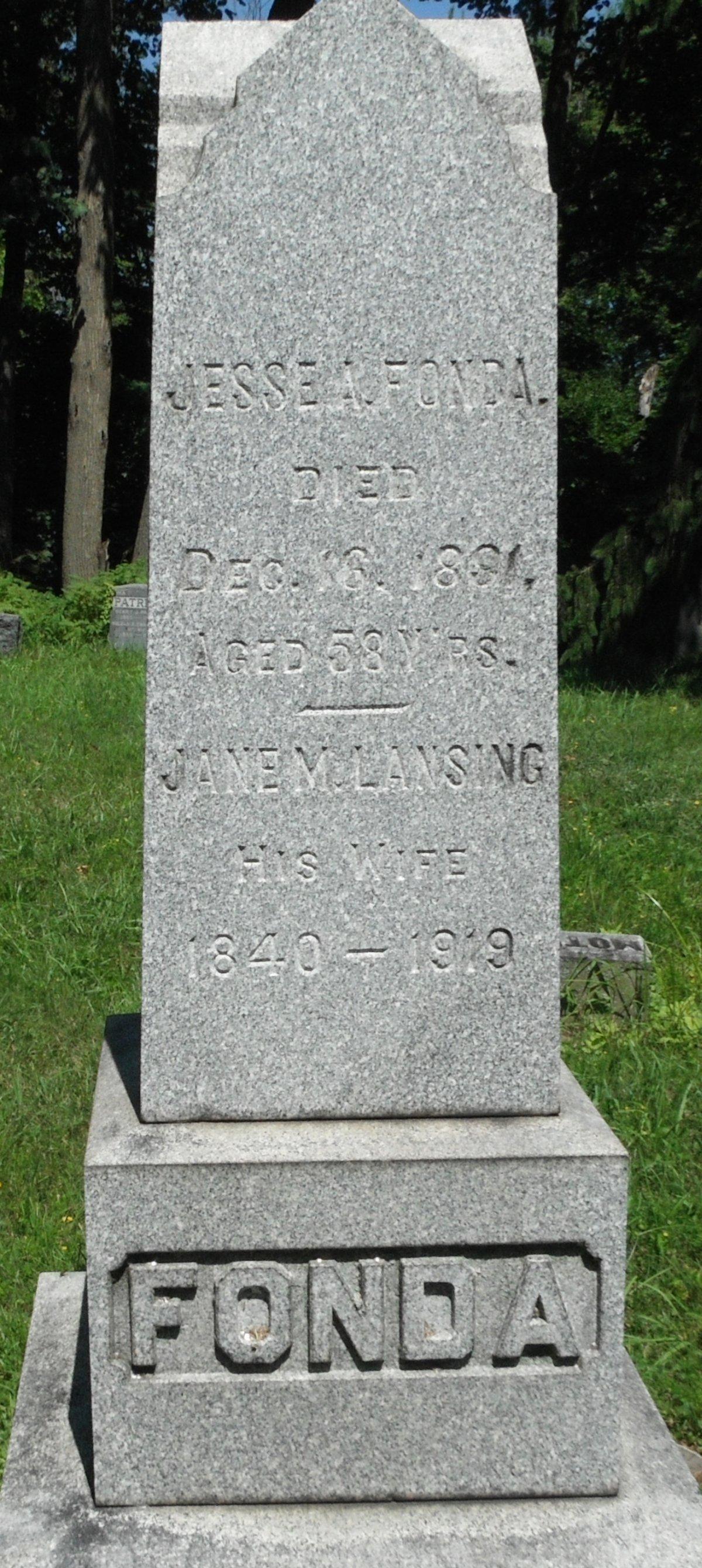 Jesse A. Fonda