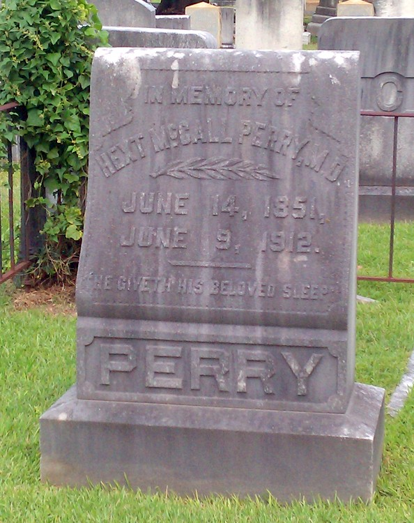 Dr Hext McCall Perry