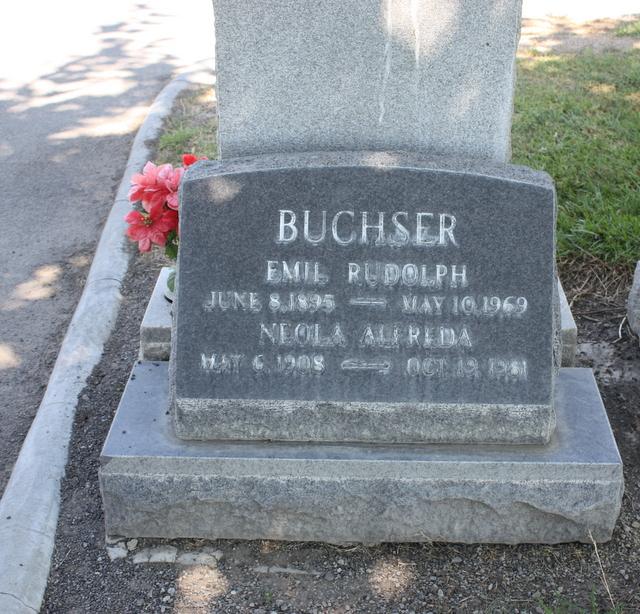 Neola Alfreda Buchser