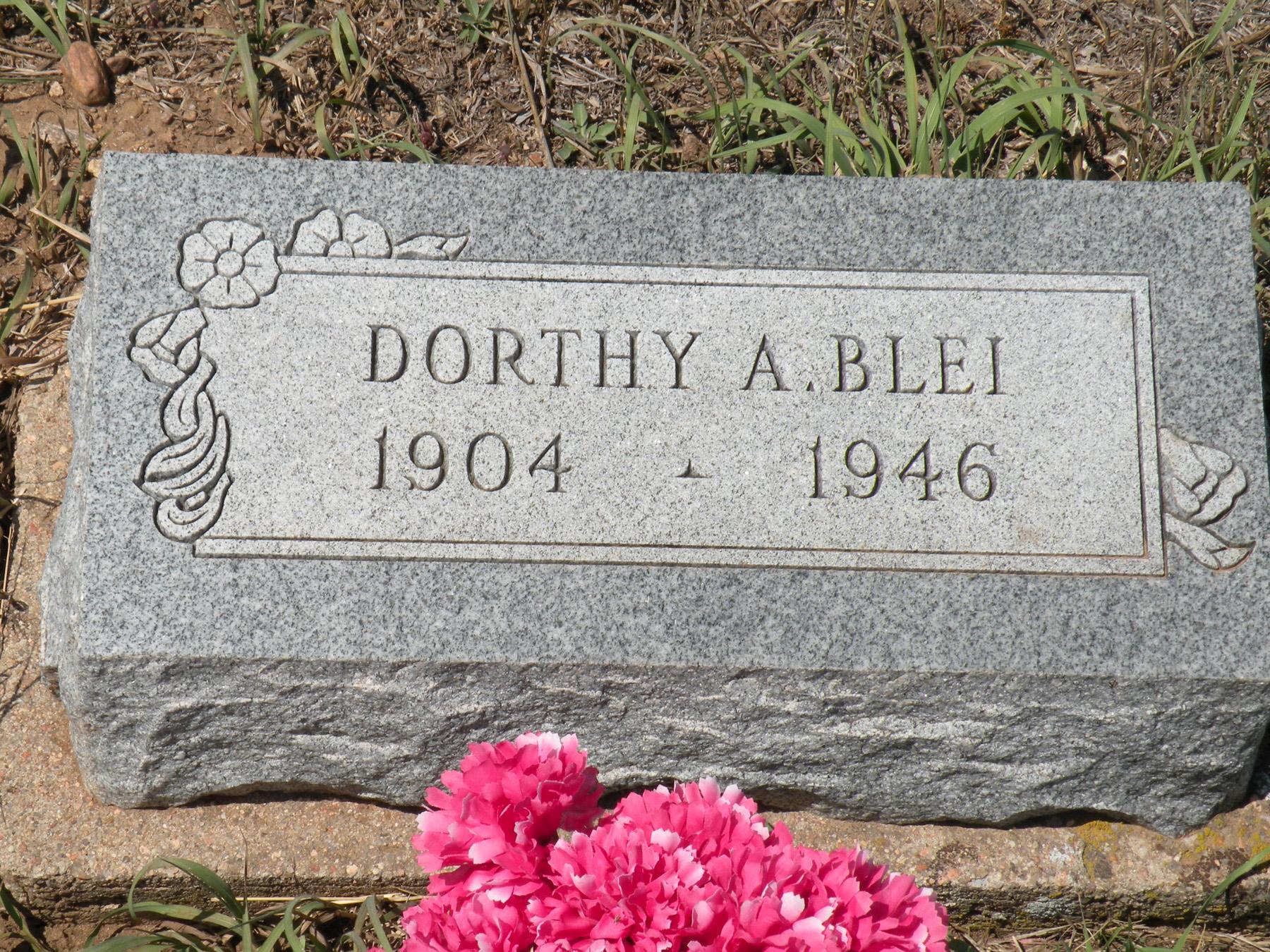 Dorothy Emilie Dora <i>Kastendieck</i> Blei